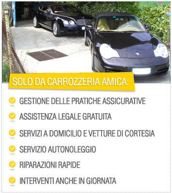 Carrozzeria amica rapallo for Domicilio legale